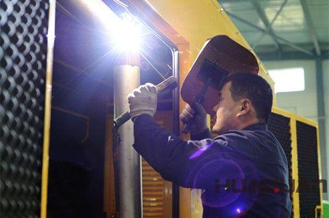 柴油发电机组安装注意事项及柴油发电机组的选